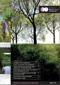 Editie magazine Natuur in de Gemeente - maart 2015