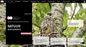 Cover magazine Natuur in de gemeente